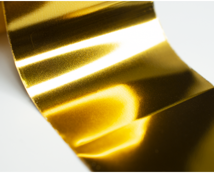 Фольга для стемпинга Lesly -  желтое золото