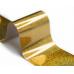 Фольга Lesly - золотая голография