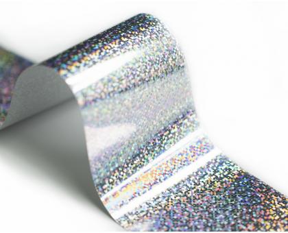 Фольга Lesly - лазерное серебро