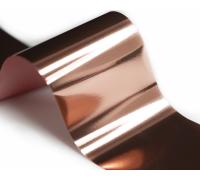 Фольга для стемпинга Lesly -  розовое золото