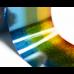 Фольга для стемпинга Lesly - голографический градиент blue-green-yellow
