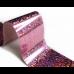 Фольга для стемпинга Lesly -  розовый кристалл
