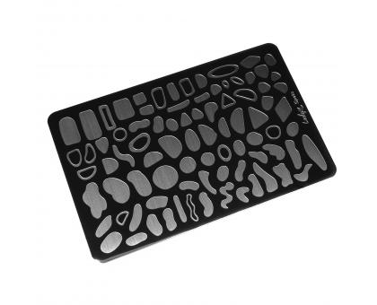 Пластина для стемпинга Lesly 8x12см - Spots