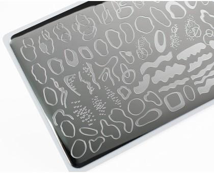 Пластина для стемпинга Lesly 8x12см - Spots 2