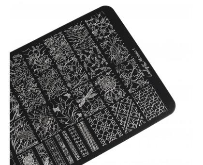 Пластина для стемпинга Lesly 9,5х14,5см - Mosaic 1