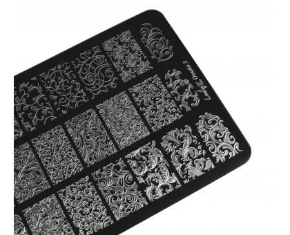 Пластина для стемпинга Lesly 9,5х14,5см - Ornate 3