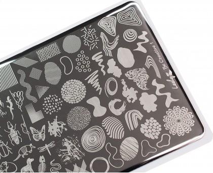 Пластина для стемпинга Lesly 8x12см - Be Creative 1