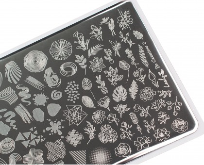 Пластина для стемпинга Lesly 8x12см - Be Creative 2