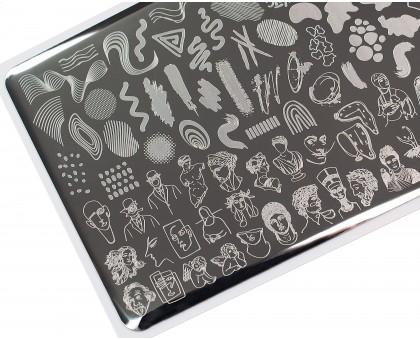 Пластина для стемпинга Lesly 8x12см - Be Creative 3