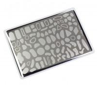 Пластина для стемпинга Lesly 8x12см - Spots 1