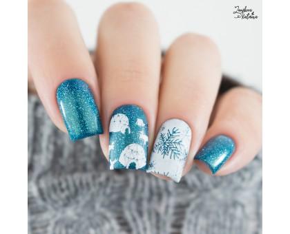 Пластина для стемпинга Lesly - Winter Mood 2