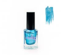 Лак для стемпинга Lesly - Shimmer Blue #65