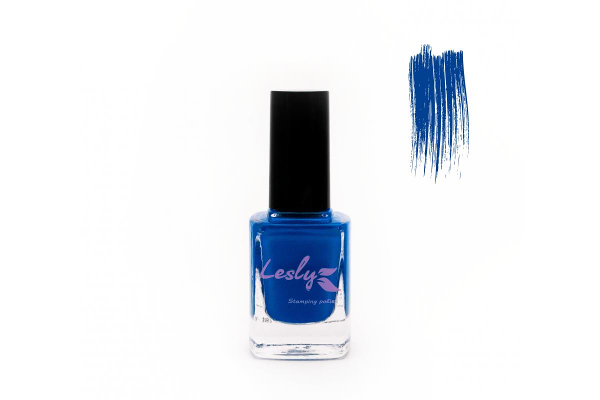 Лак для стемпинга Lesly - Dazzling Blue #06