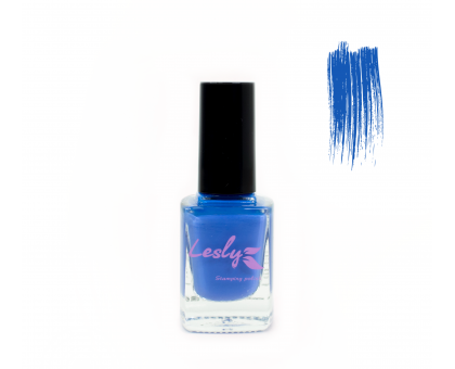 Лак для стемпинга Lesly - Blueberry #26