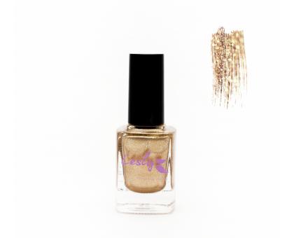 Лак для стемпинга Lesly - Shimmer Gold #04